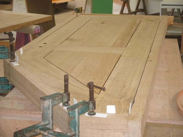 Fabrication porte bois for Fabrication porte en bois
